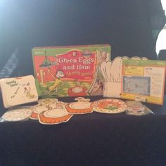 2009 Dr Suess Green Eggs & Ham Speedy Diner Childrens Game Fun Food #ICandothat