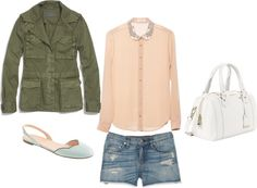 """""""military jacket"""" by redress on Polyvore"""