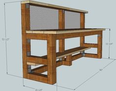 Lets see your bench! - Page 1 - AR15.COM Reloading Table, Reloading Bench Plans, Reloading Ammo, Wood Bench Plans, Garage Bench, Garage Shelf, Diy Workbench, Woodworking Shop, Woodworking Furniture