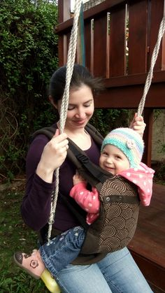 cappucino ssc babycarrier #liliputi #babycarrier #babywearing
