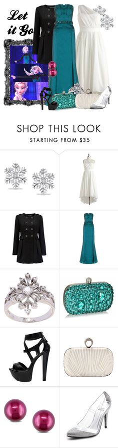 """Let it Go"" by amarie104 ❤ liked on Polyvore featuring Miadora, Disney, Forever New, Ariella, La Preciosa, Gianmarco Lorenzi and Stuart Weitzman"
