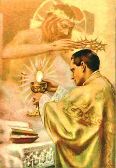 """""""La Eucaristía es la prueba suprema del amor de Jesús. Después de esto no existe nada, más que el Cielo mismo"""". (San Pedro Eymard)"""
