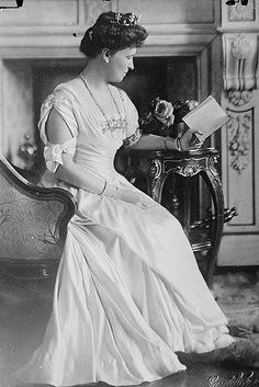 Princess Irene of Hesse, daughter of Princess Alice of Great Britain and Grand Duke Louis of Hesse.