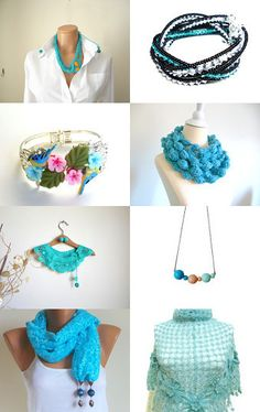 --Pinned with TreasuryPin.com Must Have Tools, Clothes Horse, Handmade Art, Crochet Necklace, Craft Ideas, Group, Street, My Style, Board