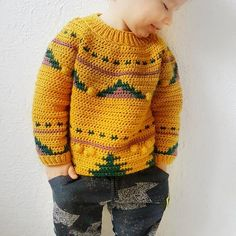 Ideas Crochet Baby Clothes Boy Color Combos For 2019 Crochet Baby Sweater Pattern, Baby Sweater Patterns, Crochet Patterns, Crochet Baby Clothes Boy, Baby Boy Sweater, Boys Sweaters, Crochet For Kids, Color Combos, Irish Crochet