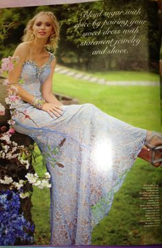Love this dress from the Seventeen Prom issue!