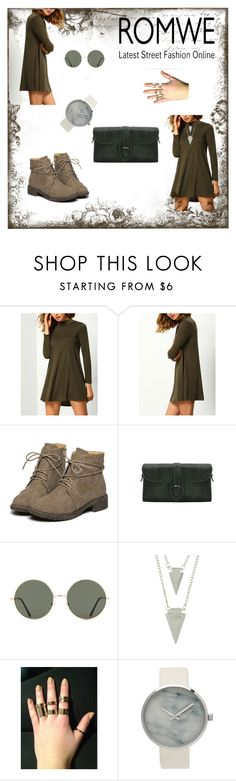 """""""Romwe III"""" by m-sisic ❤ liked on Polyvore featuring Forever 21"""