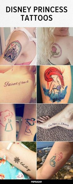 Many Disney tattoos ideas #TattooIdeasDisney