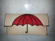 Umbrella Felt bag. Semsiye Keçe çanta.