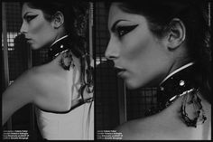 make up :black and white.  my profile facebook: https://www.facebook.com/joemy.bijoux photographer : https://www.facebook.com/DSALAMONEPhotography?fref=ts
