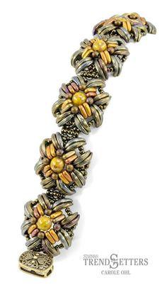 Isabella Cuff designad av Carole Ohl, vid köp av 150:- får du 1 mönster gratis, vid köp av 300:- 2 mönster etc...