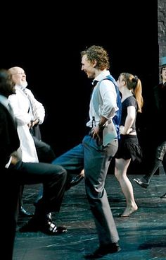 Tom Hiddleston dancing. Did I pin this already? Do I care?