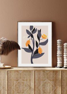 VIVID FRUITS NO. 3 - buy illustrations art prints online store #art #prints #printshop #printsforsale #bedroomprints