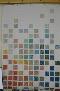 Fade Away, Modern Quilts Illustrated Photo: Jim White. - layout potential for Tula Pink and/or Splendid Sampler quilt Easy Quilts, Mini Quilts, Scrappy Quilts, Owl Quilts, Charm Pack Quilts, Charm Quilt, Quilt Studio, Quilting Projects, Quilting Designs