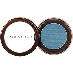 Fashion Fair Eye Shadow, Ocean 1 ea (£8.65) ❤ liked on Polyvore featuring beauty products, makeup, eye makeup, eyeshadow and fashion fair