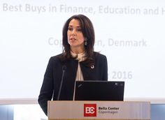 "May 16, 2016, Crown Princess Mary of Denmark attend opening of ""Women Deliver Conference 2016"" at Bella Center in Copenhagen, Denmark--Princess Mary opens Women Deliver Conference 2016"