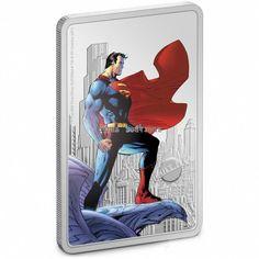 Superman, Batman, Effigy, Man Of Steel, Elizabeth Ii, 1 Oz, Silver Coins, New Zealand, Really Cool Stuff