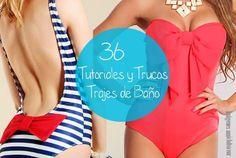 36 Diy Trajes de Bano-Bikinis Tutoriales y Trucos - enrHedando