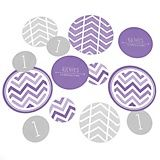 Big Dot of Happiness Chevron Gray - Baby Shower or Birthday Party Giant Circle Confetti - Bridal Shower Party Decorations - Large Confetti 27 Count Blue Party Themes, Purple Party, Green Party, Baby Shower Themes Neutral, Grey Baby Shower, Boy Shower, Big Dot Of Happiness, Table Confetti, Personalized Party Favors