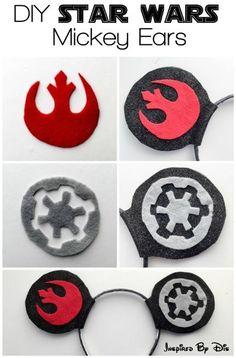 I love these DIY Star Wars Mickey Ears