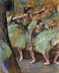 Danseuses Giclee Print Poster by Edgar Degas Online On Sale at Wall Art Store – Posters-Print.com