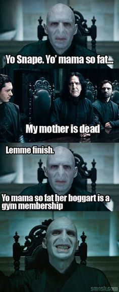 Deep Inside Joke for Harry Potter Fans haha