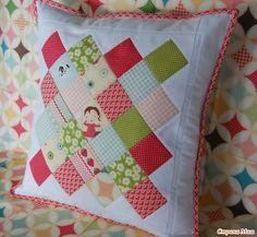 Лоскутные подушки 1