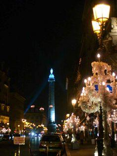 By NikitaDB. Place Vendome- Paris at Christmas