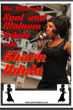 Looking for entertainment for your event? Check out East London's very own Motown Diva Sharn Adela  www.sharnadela.co.uk
