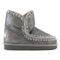 Mou eskimo 18 Dust Iron - MOU #mou #fashion #newshoes #women #streetstyle