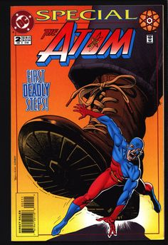 The ATOM Special Edition #2, Brian Bolland cover, Ray Palmer, Tom Peyer, Luke McDonnell, Legends of Tomorrow, Comic Book