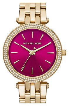 MICHAEL Michael Kors'Mini Darci' Bracelet Watch,33mm