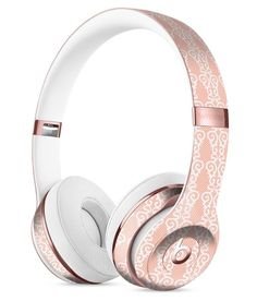 The All Over Coral Royal Pattern Full-Body Skin Kit for the Beats by Dre Solo 3 Wireless Headphones