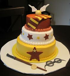 Creative Cakes by Lynn: Harry Potter Cake