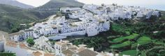 Frigiliana, Andalusia, Spain. Traditional white village 4 km above Nerja