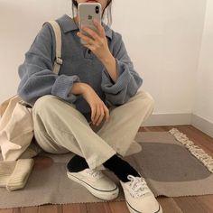 Korean Fashion Winter, Korean Girl Fashion, Korean Street Fashion, Korean Fashion Styles, Korean Fashion Pastel, Korea Street Style, Korea Fashion, Aesthetic Fashion, Look Fashion