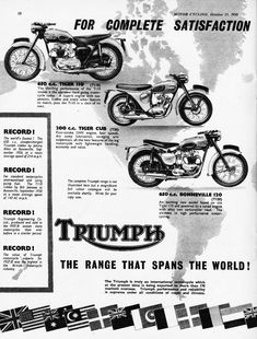 Terry Macdonald Triumph Chopper, Triumph Motorcycles, Motorcycle Posters, Motorcycle Art, Triumph Bonneville, Motorbikes, Advertising, Ads, Bobbers