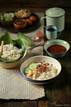 Nasi Uduk - Traditional Indonesian cuisine