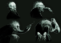 Nagini | The Original Harry Potter Creature Concept Art Is Utterly Breathtaking
