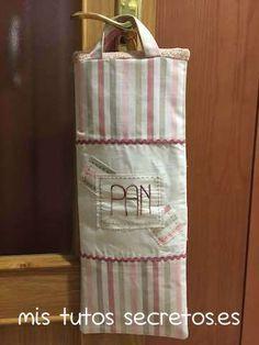 Bolsa de tela para el pan 16