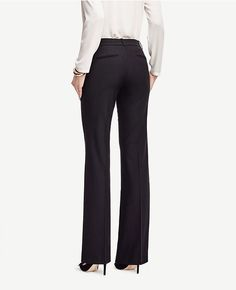 Thumbnail Image of Color Swatch 6600 Image of The Trouser in All-Season Stretch - Kate Fit Ann Taylor pants