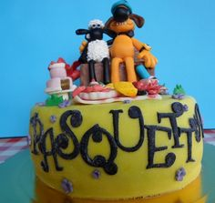 La torta di Shaun vita da pecora Cake Shaun the sheep