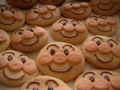Anpanman Cookies for Keila's birthday party