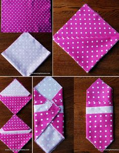 28 Creative Napkin-Folding Techniques I used to do so many of these at camp! Napkin Ring Folding, Christmas Napkin Folding, Christmas Napkins, Napkin Rings, Folding Napkins, Christmas Tree, Origami, Paper Crafts, Diy Crafts