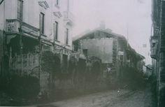 Legnano, Corso Sempione, verso San Vittore Olona.
