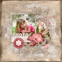 Bribri62-Scrap: Mes pages avec le Kit Collab Pink Lady de Kastagnette et ButterflyDesign