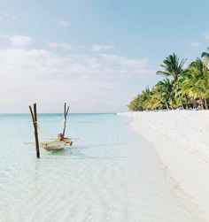 Beach hammock in Mauritius Yes or No ? by @doyoutravel