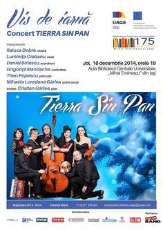 Concerte tematice de Craciun la Universitatea de Arte George Enescu din Iasi