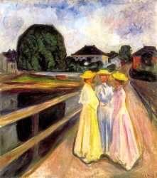 Munch foi um dos principais representantes do expressionismo pictórico alemão. Com seu primeiro retrato, A Criança Doente (1885-1886), colo...