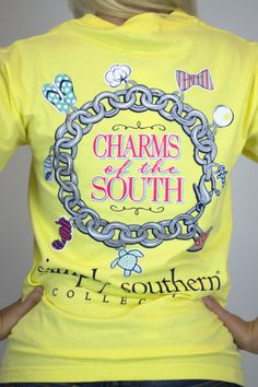 Charms Of The South Simply Southern T-Shirt